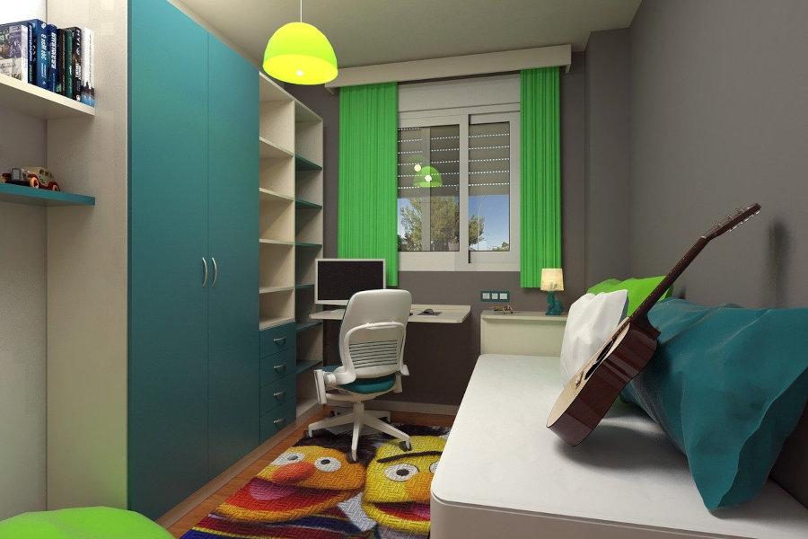 habitacion juvenil